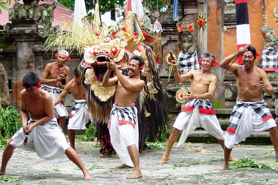 Image result for barong dance performance